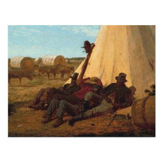 Winslow Homer - die Sonnenseite Postkarte