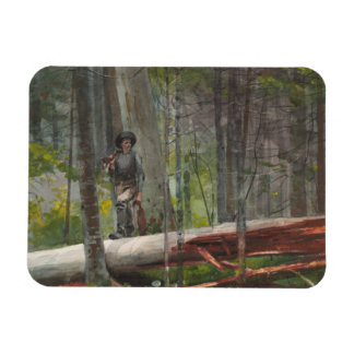 Winslow Homer - Jäger im Adirondacks Magnet