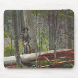 Winslow Homer - Jäger im Adirondacks Mauspads
