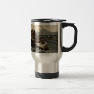 Winslow Homer-Nebel-Warnung Reisebecher
