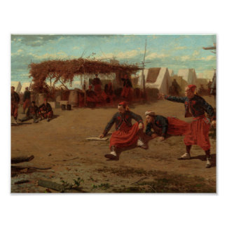 Winslow Homer - NickenQuoits Poster