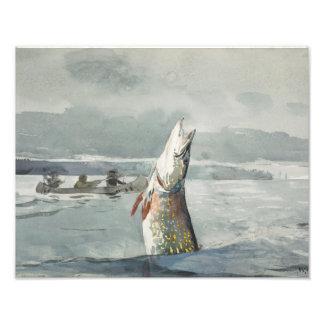 Winslow Homer - Pike, See Johannes Fotodruck