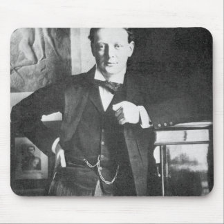 Winston Spencer Churchill im Jahre 1904 Mousepads