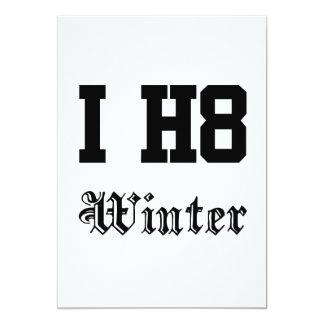 Winter 12,7 X 17,8 Cm Einladungskarte