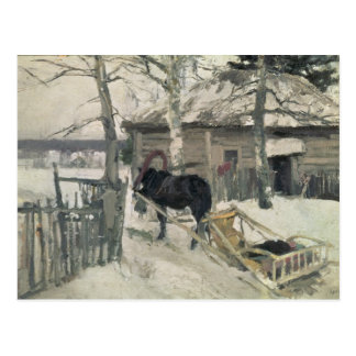 Winter, 1894 postkarte