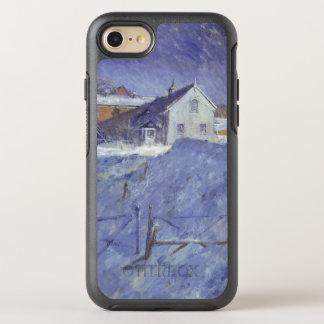 Winter am silbernen Häuschen OtterBox Symmetry iPhone 8/7 Hülle