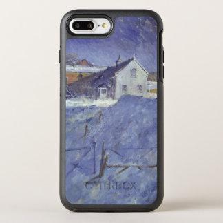 Winter am silbernen Häuschen OtterBox Symmetry iPhone 8 Plus/7 Plus Hülle