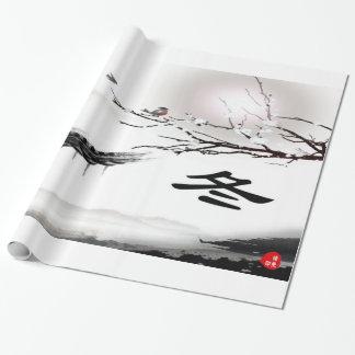 Winter-Amerikaner-Packpapier Geschenkpapier