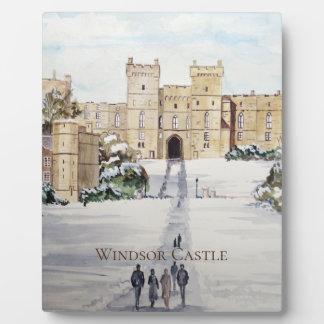 Winter an Windsor Schloss durch Farida Greenfield Fotoplatte