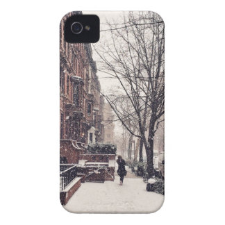 Winter auf Upper West Side iPhone 4 Cover