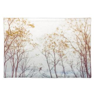 Winter-Bäume Tischset