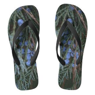 Winter-Beeren Flip Flops
