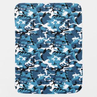 Winter-Blau-Camouflage Puckdecke