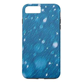 Winter-blauer Schnee-Muster-Apple iPhone Kasten iPhone 8 Plus/7 Plus Hülle