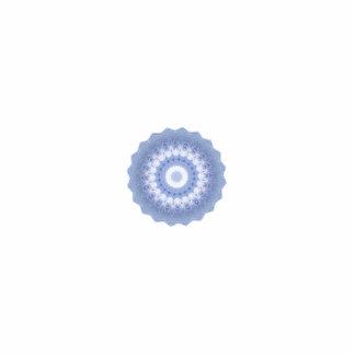 Winter-Blumen-Kaleidoskop Fotoskulptur Ornament