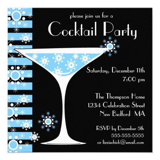 Winter CocktailParty Einladung