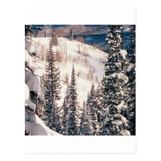 Winter die Ruhe vor dem Sturm Brighton Utah Postkarte