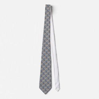 Winter-Drossel-Natur-Muster Krawatte