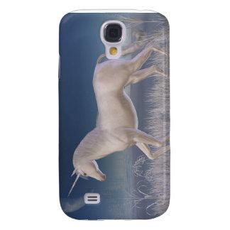 Winter-Einhorn - laufend Galaxy S4 Hülle