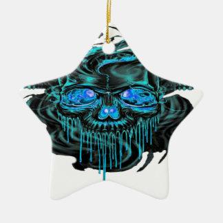 Winter-Eis-Skelette png Keramik Ornament