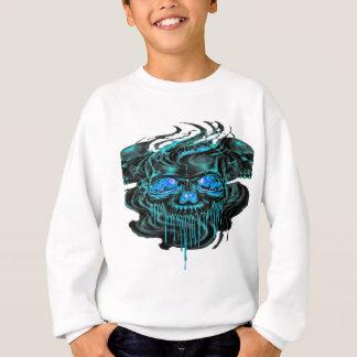 Winter-Eis-Skelette png Sweatshirt