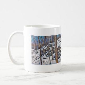 Winter entsteint Tasse