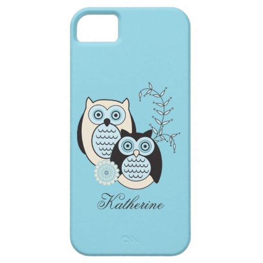 Winter-Eulen-Case-Mate Identifikation iPhone 5 Schutzhüllen