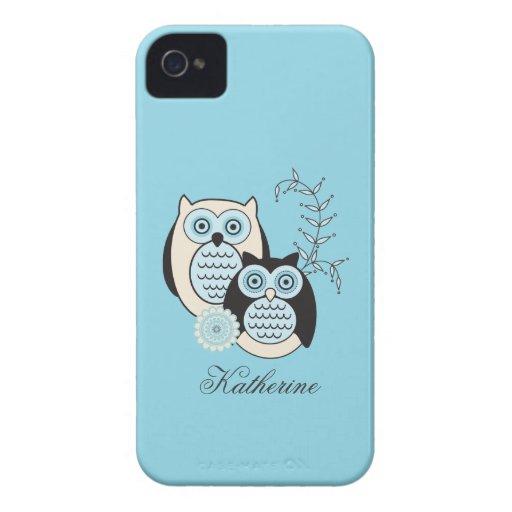 Winter-Eulen-Case-Mate Identifikation Case-Mate iPhone 4 Hülle