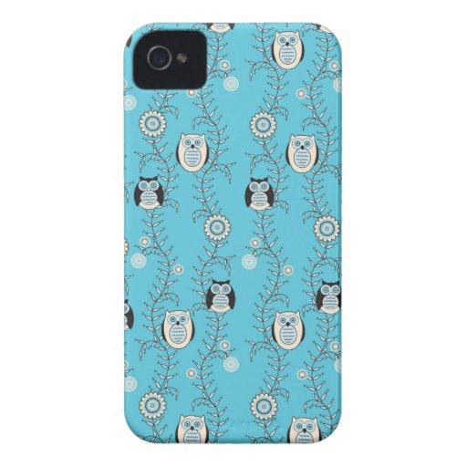 Winter-Eulen iPhone 4 Case-Mate Identifikation