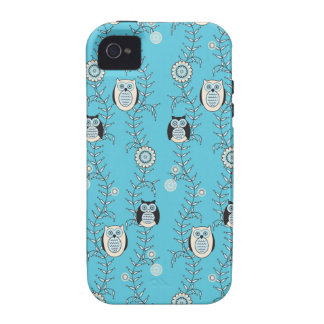 Winter-Eulen iPhone 4 Case-Mate stark