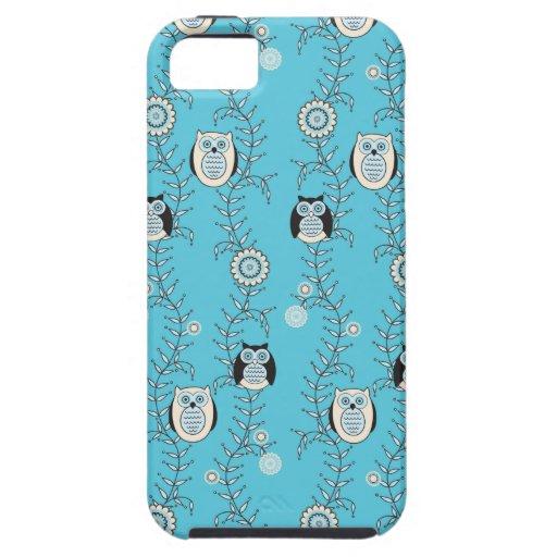 Winter-Eulen iPhone 5 Case-Mate stark