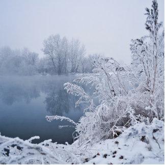 Winter Fotoskulptur Magnet