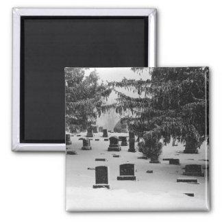 Winter-Friedhof Quadratischer Magnet