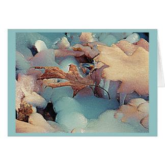 Winter-Frost Karte