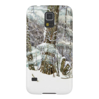 Winter Galaxy S5 Hülle