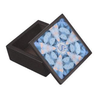 Winter-geometrische Schachtel