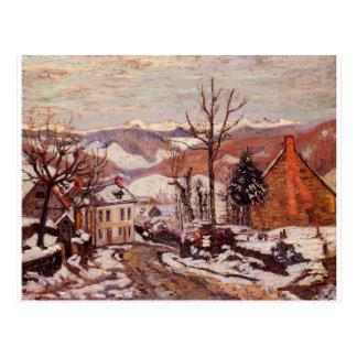 Winter im Heiligen-Sauves-d'Auvergne durch Armand Postkarten
