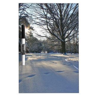 Winter im Park Memoboard