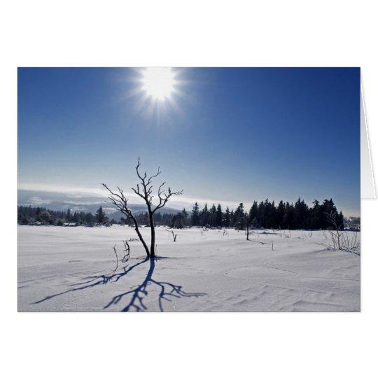 Winter im Schwarzwald Karte