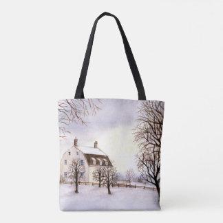 Winter in Neu-England durch Farida Greenfield Tasche