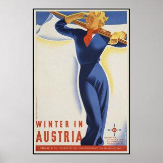 Winter in Österreich Poster