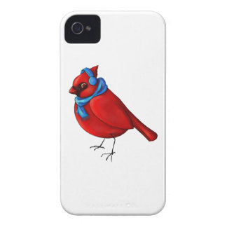 Winter-Kardinal iPhone 4 Case-Mate Hülle