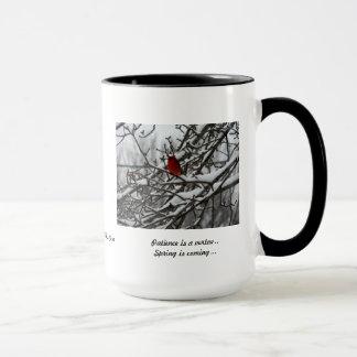 Winter-Kardinal Tasse