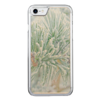 Winter-Kiefer Carved iPhone 8/7 Hülle