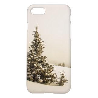 Winter-Kiefern-Schnee-Szene - iphone 7 Fall iPhone 8/7 Hülle