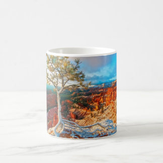 Winter kommt zum Grand Canyon Kaffeetasse