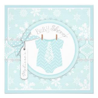 Winter-Krawatten-und Schneeflocke-Druck-Jungen-Bab