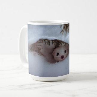 Winter - Kurz-Angebundener Weasel Kaffeetasse