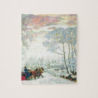 Winter. _Kustodiev Puzzle