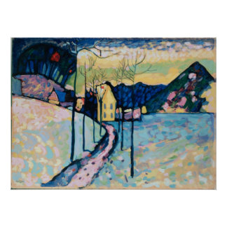 Winter-Landschaft Poster